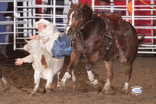 Steer Wrestling Bennington Prca Rodeo